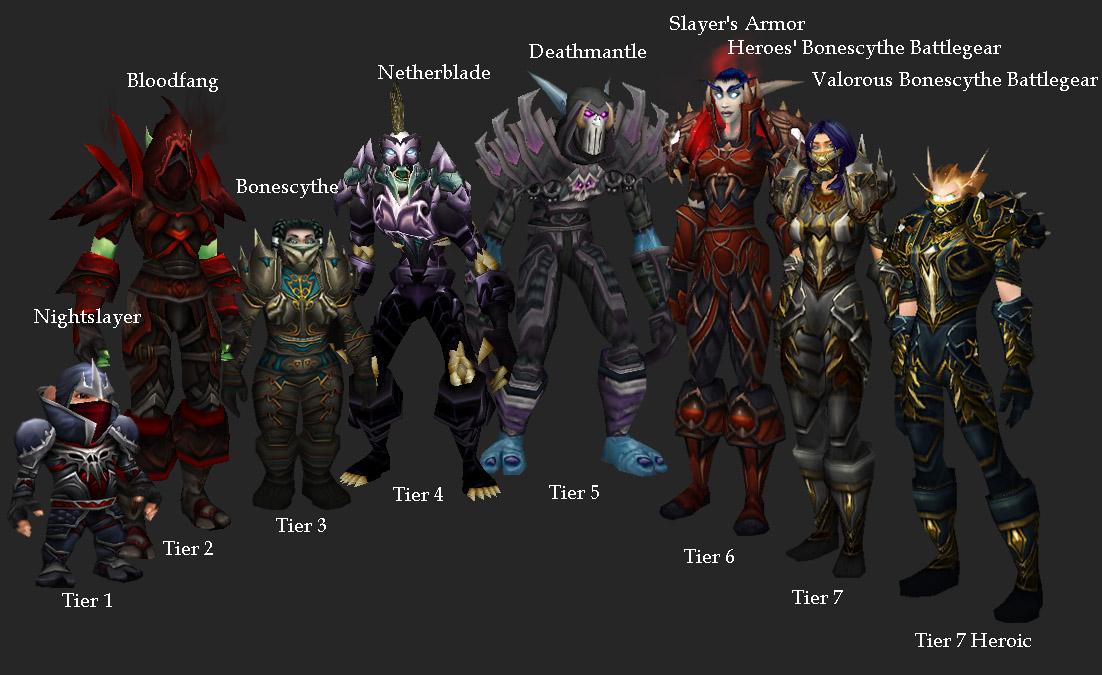 Rogue armor wow