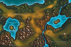 Лордерон карта варкрафт 3